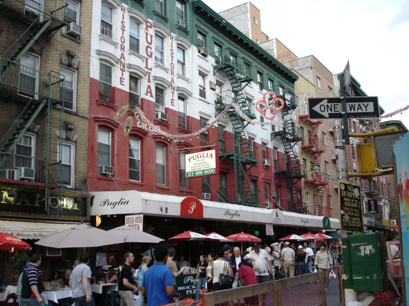 Little italy new york italie in new york pizza - Sfeer new york ...